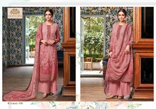 Aanzara Kiraaz Cotton Salwar Kameez Collection