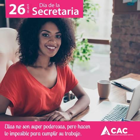 Consorcio Azucarero Central CAC reconoce a las secretarias en su día