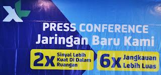 XL Pontianak Luncurkan Frekuensi Jaringan 3G Baru Rasa 4G