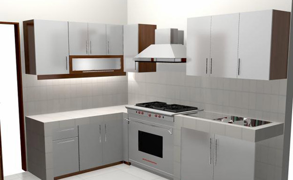 Minimalist kitchen set for your family