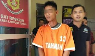 Kejadian berlaku di Lampung Tengah