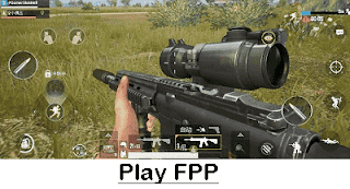 Play FPP(First Person Shooter)
