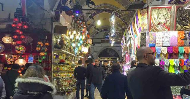 Il Gran Bazar di Istanbul