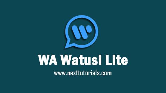 WhatsApp Watusi Lite iOS v12.0 Apk Mod Latest Version Android,Install Aplikasi WA Watusi Lite iOS Anti Banned Terbaik 2021,tema wa mod ios dark,