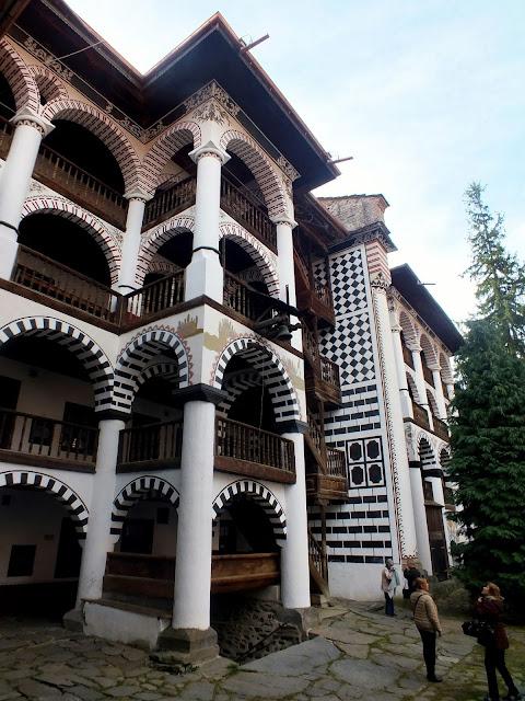 Balcones del Monasterio de Rila