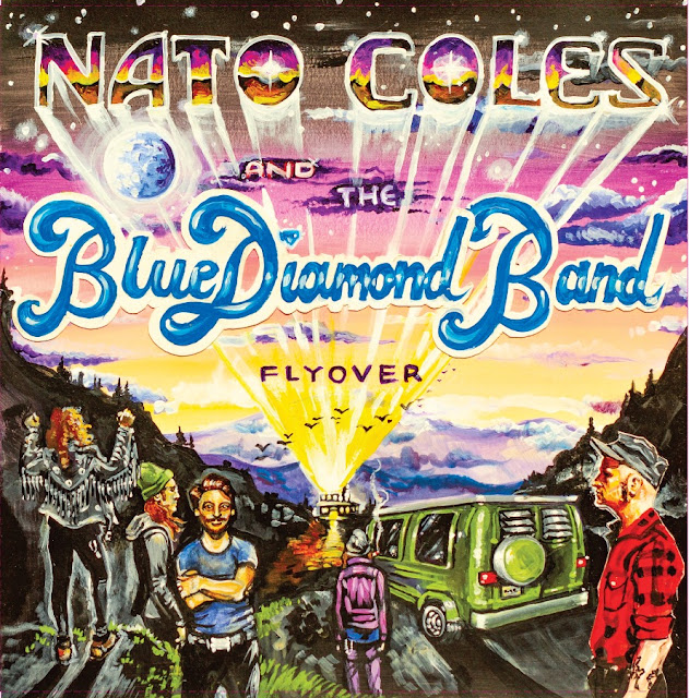 "Nato Coles and The Blue Diamond Band - ""Flyover"" (2019)"