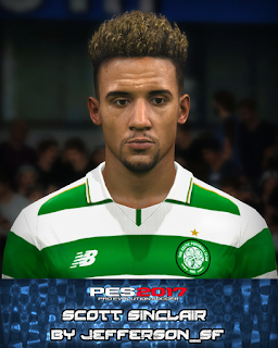 PES 2017 Faces Scott Sinclair by FaceEditor Jefferson_SF