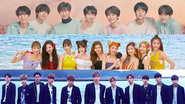 10 Group K-Pop Dengan Penjualan Album Terbanyak di Tahun 2018