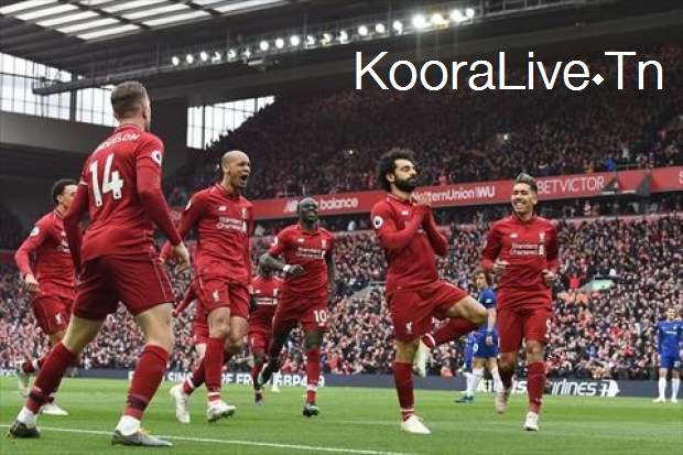 ليفربول ثالث الدوري الإنجليزي
