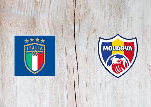 Italy vs Moldova -Highlights 07 October 2020