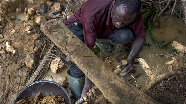 14 miners missing in collapsed Ghana mine