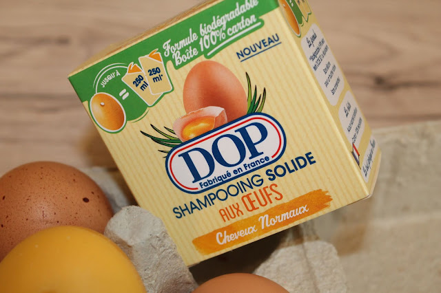 Shampooing Solide aux Oeufs - DOP