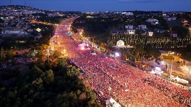 thumbs b c c9d99d80da420daac20c1289ff8c1c62 - Di Turki Erdogan Didukung Jutaan Rakyatnya Peringati 1 Tahun Kudeta Gagal, Disini Presiden Diblokir Rakyatnya