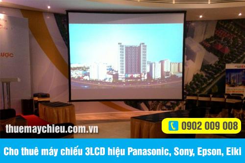 Cho thuê máy chiếu 3LCD hiệu Panasonic, Sony, Epson, Eiki