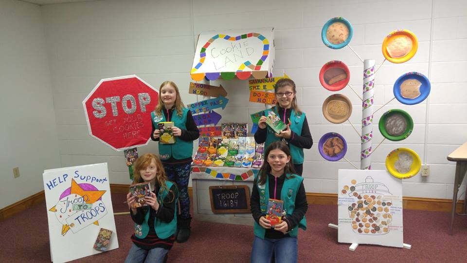 Girl scouts western pennsylvania 2017 bling your booth winners their deliciously cute cookie land booth garnered 364 votes theyll receive a 100 girl scout shop gift certificate and each girl will get a patch publicscrutiny Image collections