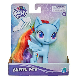 My Little Pony Rainbow Dash Budget Styling Pony Reveal the Magic Brushable