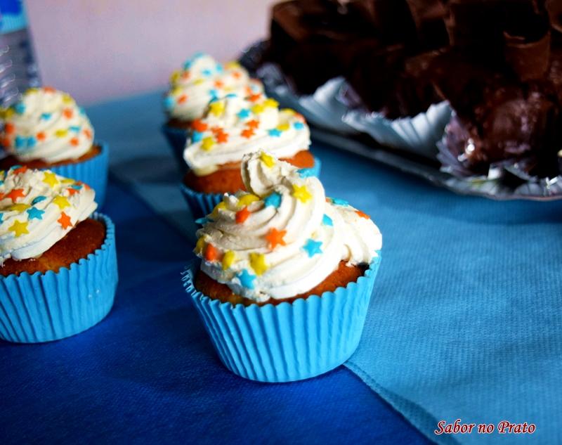 Cupcake de leite ninho