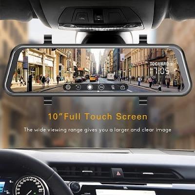TOGUARD CE60 Car FHD Mirror Dash Cam Camera