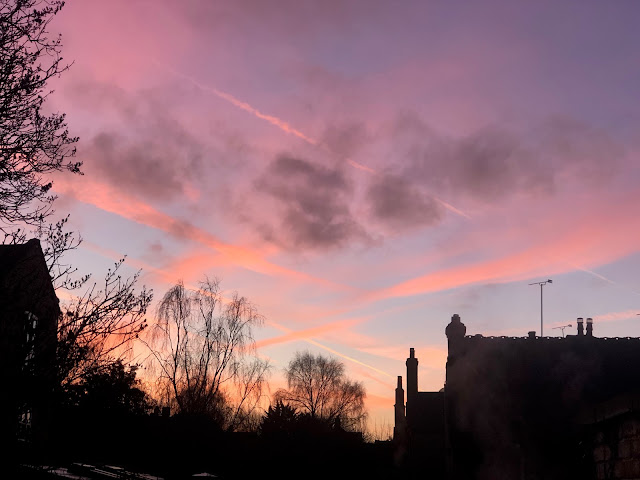 Chez Maximka, morning sky