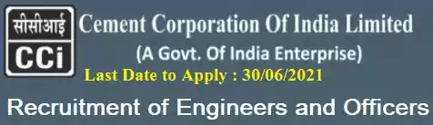 CCIL Engineer Officer Vacancy Recruitment 2021