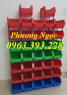 Kệ dụng cụ A6, khay linh kiện xếp chồng, hộp nhựa đựng ốc vít 6beebac0a025477b1e34