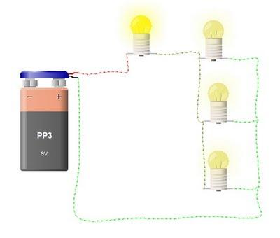 Este circuito es la mezcla de un circuito serie y uno paralelo