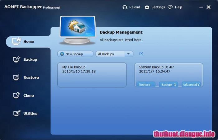 Download AOMEI Backupper Professional 4.6.2 Full Crack, AOMEI Backupper Professional, AOMEI Backupper Professional free download, AOMEI Backupper Professional full key, phần mềm sao lưu và phục hồi mạnh mẽ
