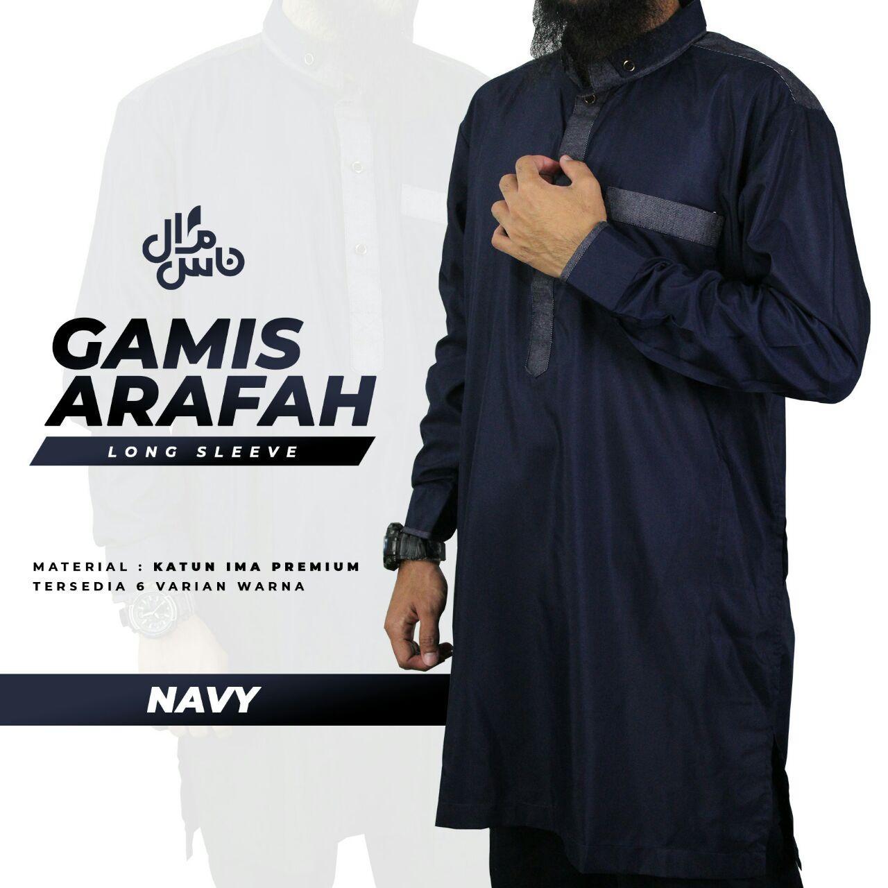 Gamis Arafah Lengan Penjang
