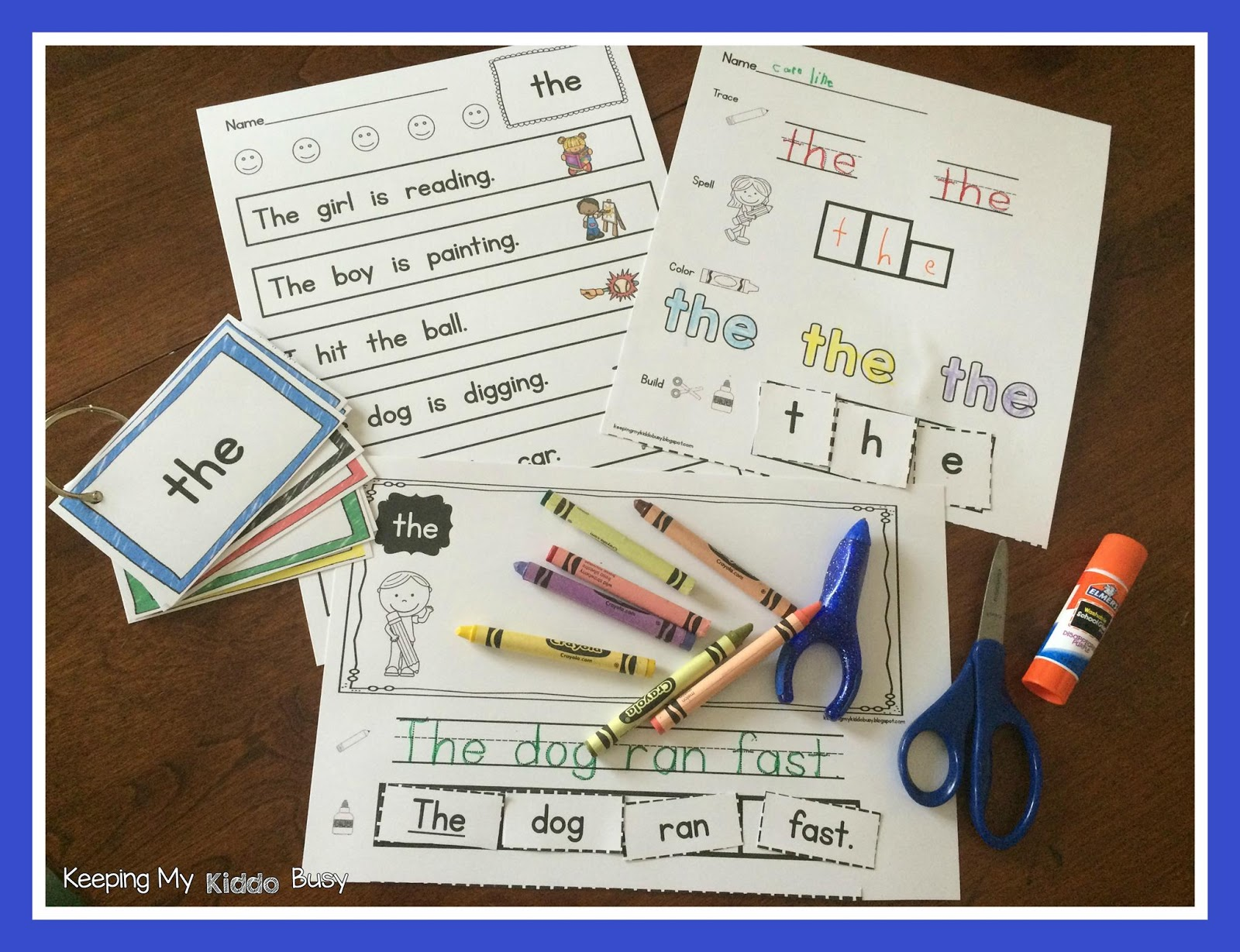 Keeping My Kiddo Busy How I Teach Sight Words