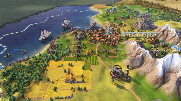 Sid Meiers Civilization VI PC Full Version Screenshot 1