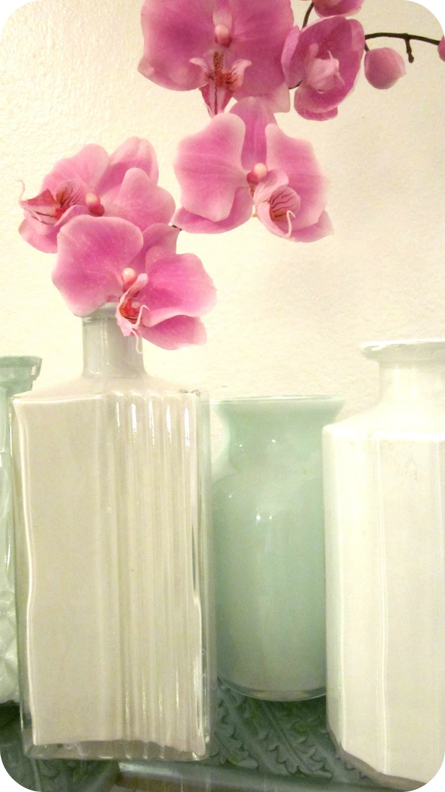 Live Gorgeously Painted Thrift Store Amp Dollar Store Vases