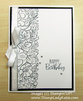 Birthday Card made with Stampin'UP!'s Breathtaking Bouquet stamp set