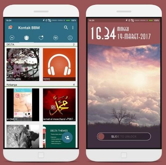 Download BBM Delta Terbaru Mod Apk 2017 v4.3.1 Keren