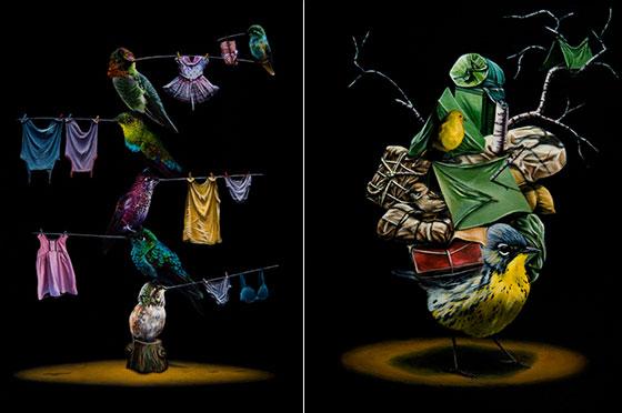 Bizarre Animal Paintings-7