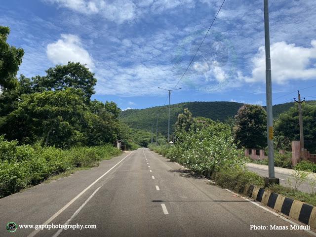 Way to Maa Barunei and Karunei Temple of Khordha, Odisha