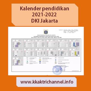 Kalender Pendidikan 2021-2022 Provinsi DKI Jakarta
