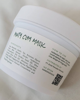 saturday looks minty clay mask ingredients