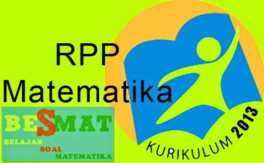 RPP Matematika Kurikulum 2013 Untuk Kelas X SMA