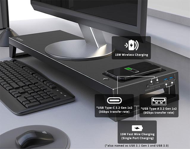 LANQ PCDock: O novo padrão de suporte para monitor