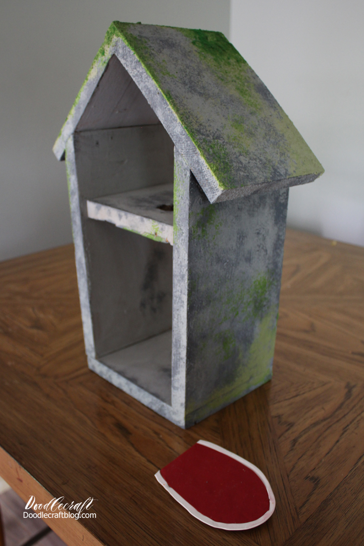 Doodlecraft diy fairy garden house and miniatures How to make a fairy door out of clay