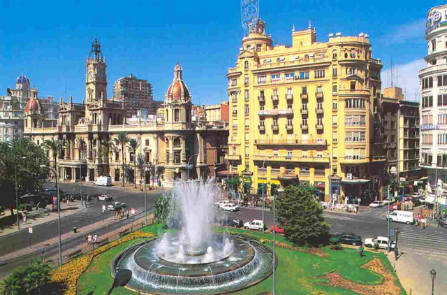 Pontos turísticos de Valencia