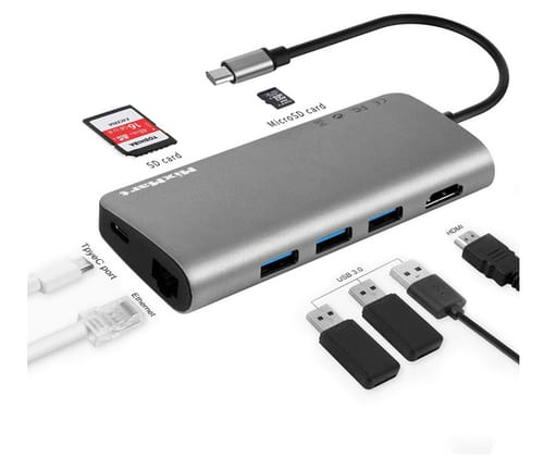 MixMart USB C Multiport Hub 8in1 USB Type C