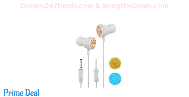 50%OFF CoreMee Giik in-Ear Headphones Stereo Sound Wired Earphones