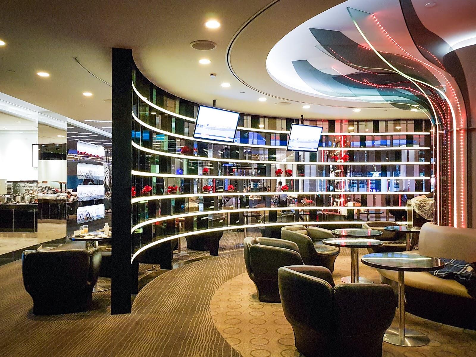 TPE|桃園機場 長榮航空貴賓室 EVA Air Lounge - The Infinity