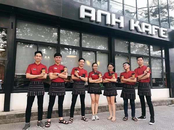 Đồng phục nhân viên cafe ANH KaFe