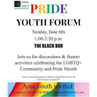 THE BLACKBOX: Pride Youth Forum - June 6
