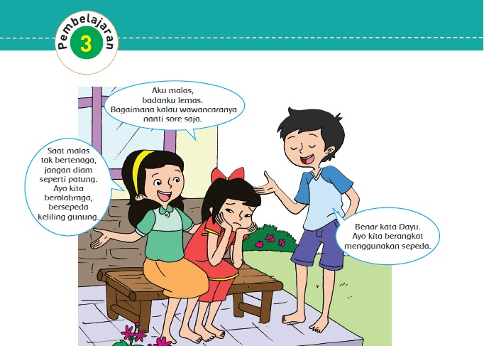 Materi Dan Kunci Jawaban Tematik Kelas 5 Tema 4 Subtema 2