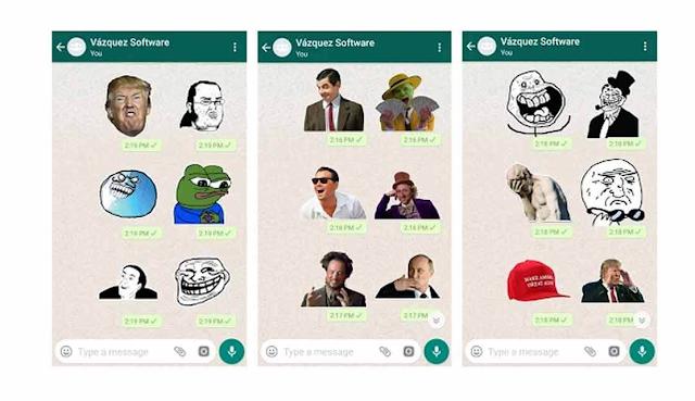 Stiker Meme WhatsApp