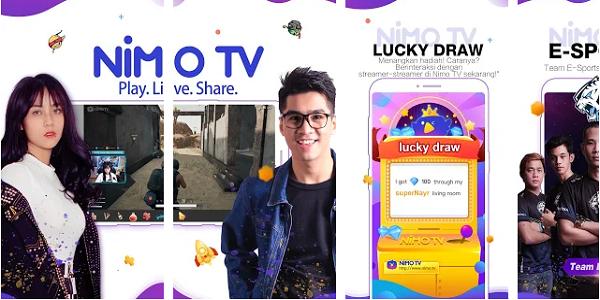 Cara Mendapatkan Pulsa Gratis Terbaru dari Aplikasi Nimo TV