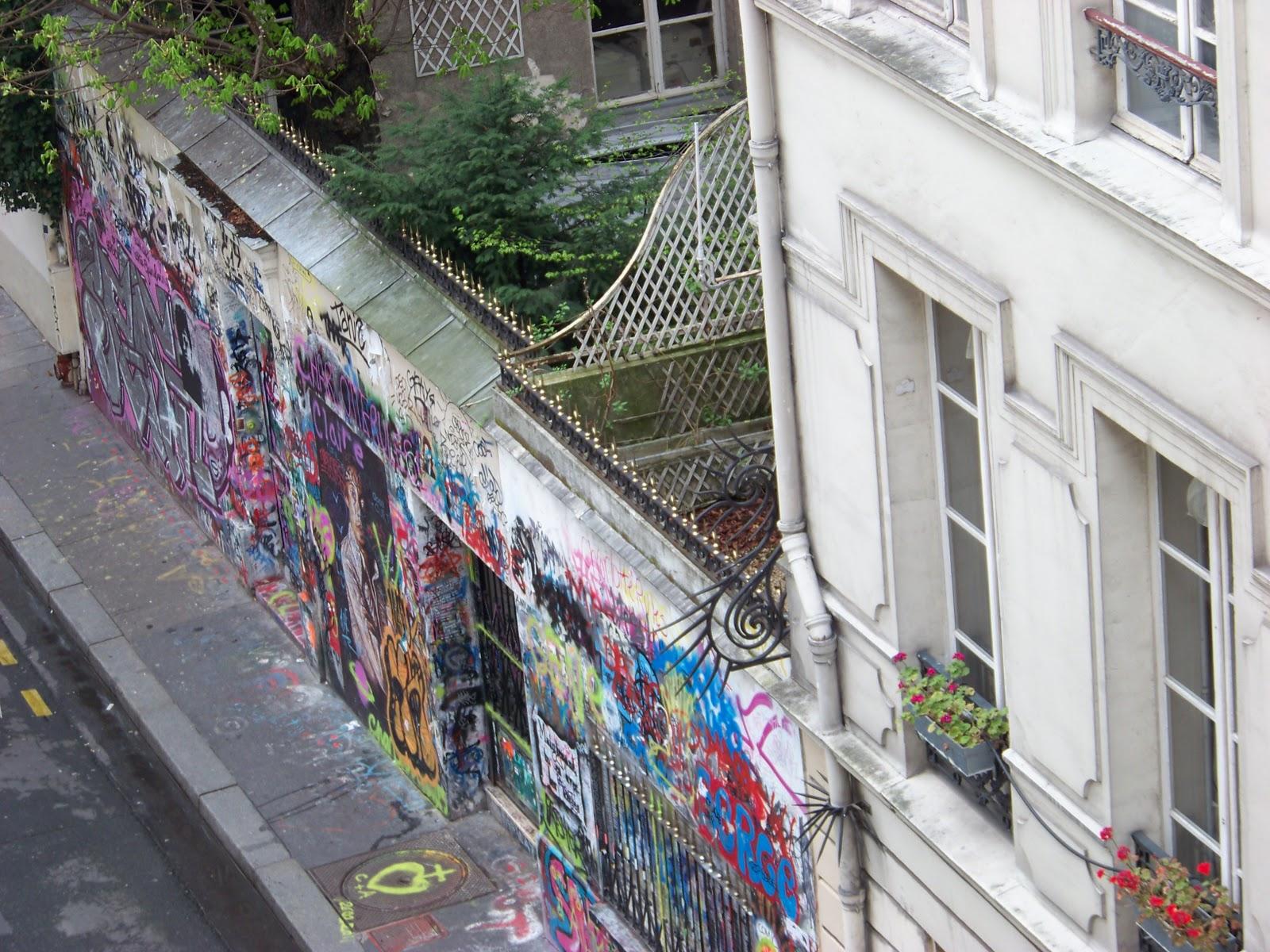 Maison de serge gainsbourg passage par la rue de verneuil